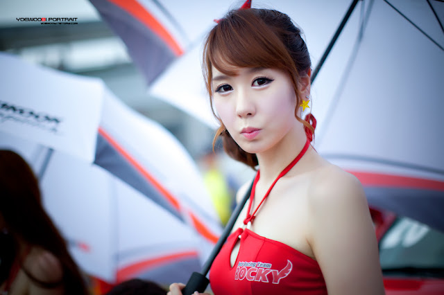 4 Kim Ye Ha - Korea Speed Festival R2 2012-very cute asian girl-girlcute4u.blogspot.com
