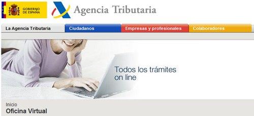 Empresa y gestion agencia tributaria nueva funcionalidad for Oficina de gestion tributaria