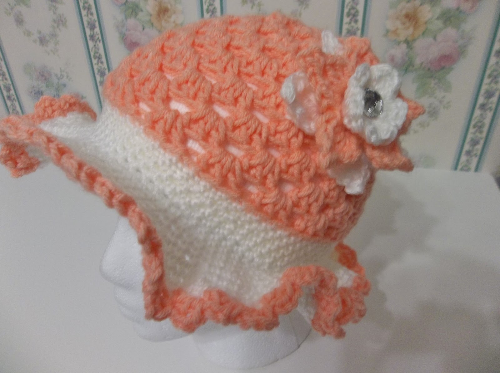 Free Crochet Patterns For Easter Bonnets : Creating Beautiful Things in Life: Easy Crochet Spring ...