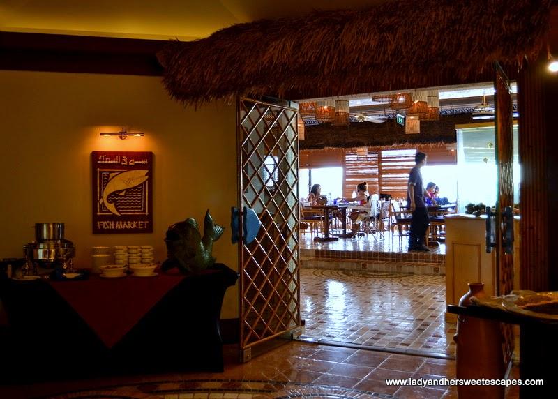 Fish Market restaurant at Radisson Blu