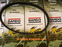 Daftar Harga V-Belt Motor Matic Bando dan Mitsuboshi Terbaru