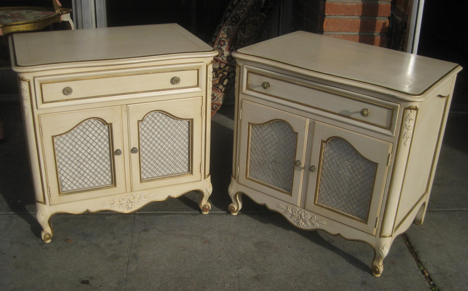 uhuru furniture collectibles sold french provincial bedroom set