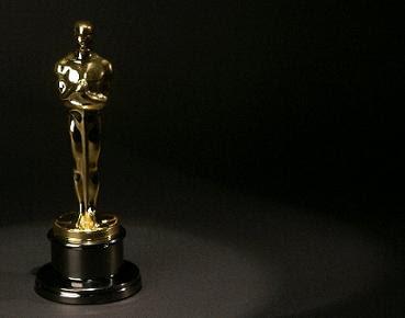 Oscar golden statuette