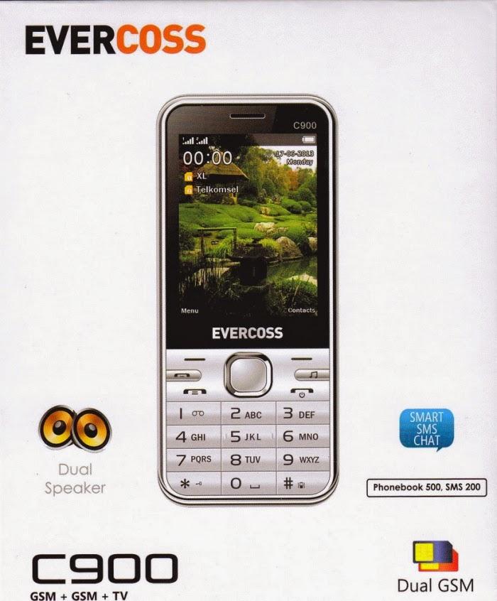 harga Evercoss C900