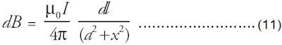 persamaan Biot-Savart induksi magnetik