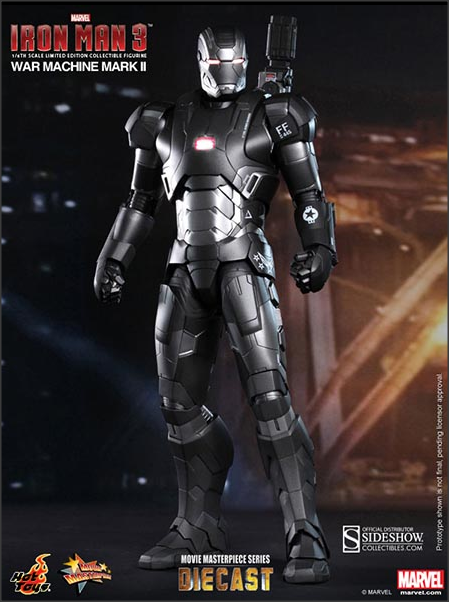 War Machine Mark II Iron Man 3 Hot Toys