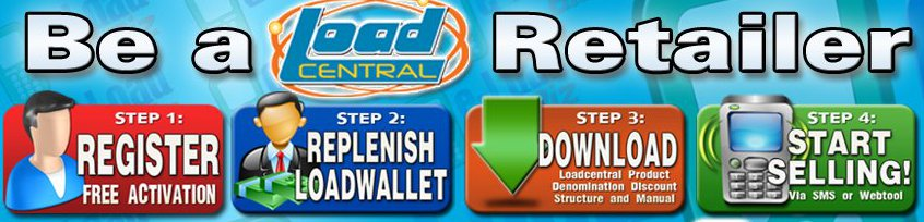 LoadCentral e-Loading Business - Free Retailer Activation