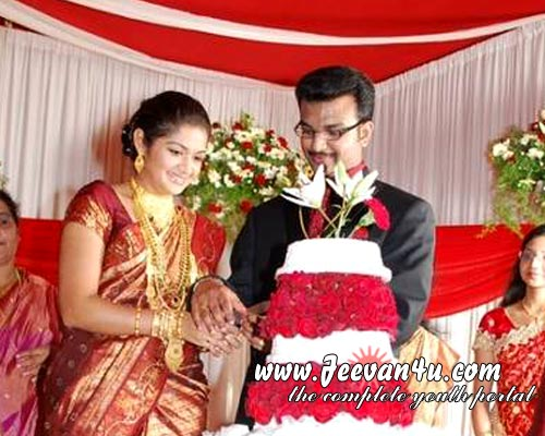 tamil actress wedding photos