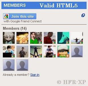 Membuat Widget Pengikut / Follower Menjadi Valid HTML5