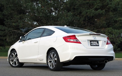 Honda Civic Si coupe 2012 taffeta white color