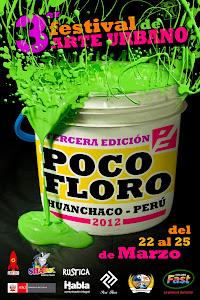 3er Festival de Arte Urbano Poco Floro en Huanchaco, Trujillo Perú