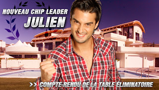 julien chip leader de la maison du bluff 2