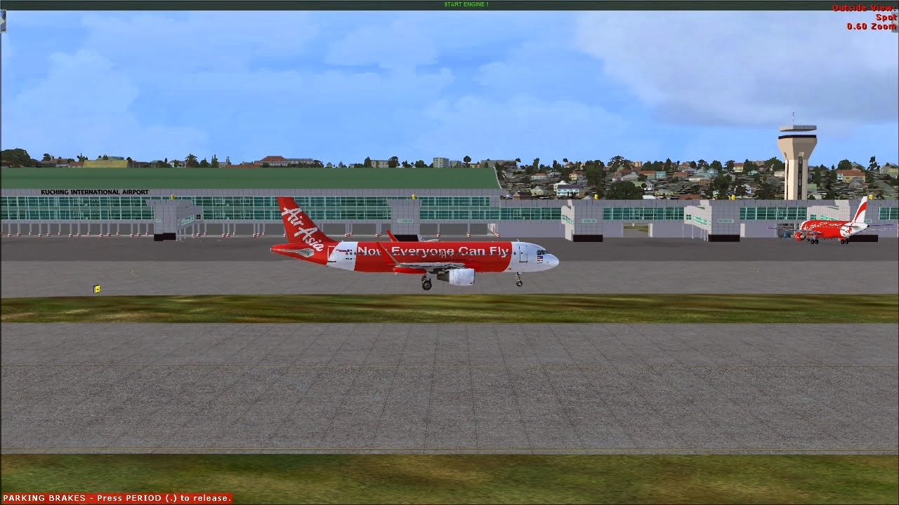how to turn on engines in fsx