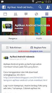 Update Aplikasi Facebook Android - Bisa bikin Status dan Like saat Offline