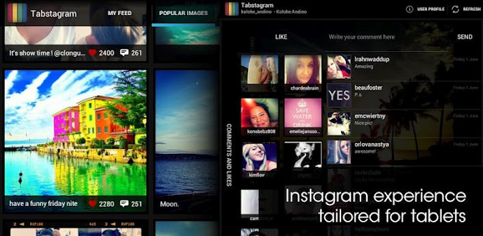how to get instagram for android tablet