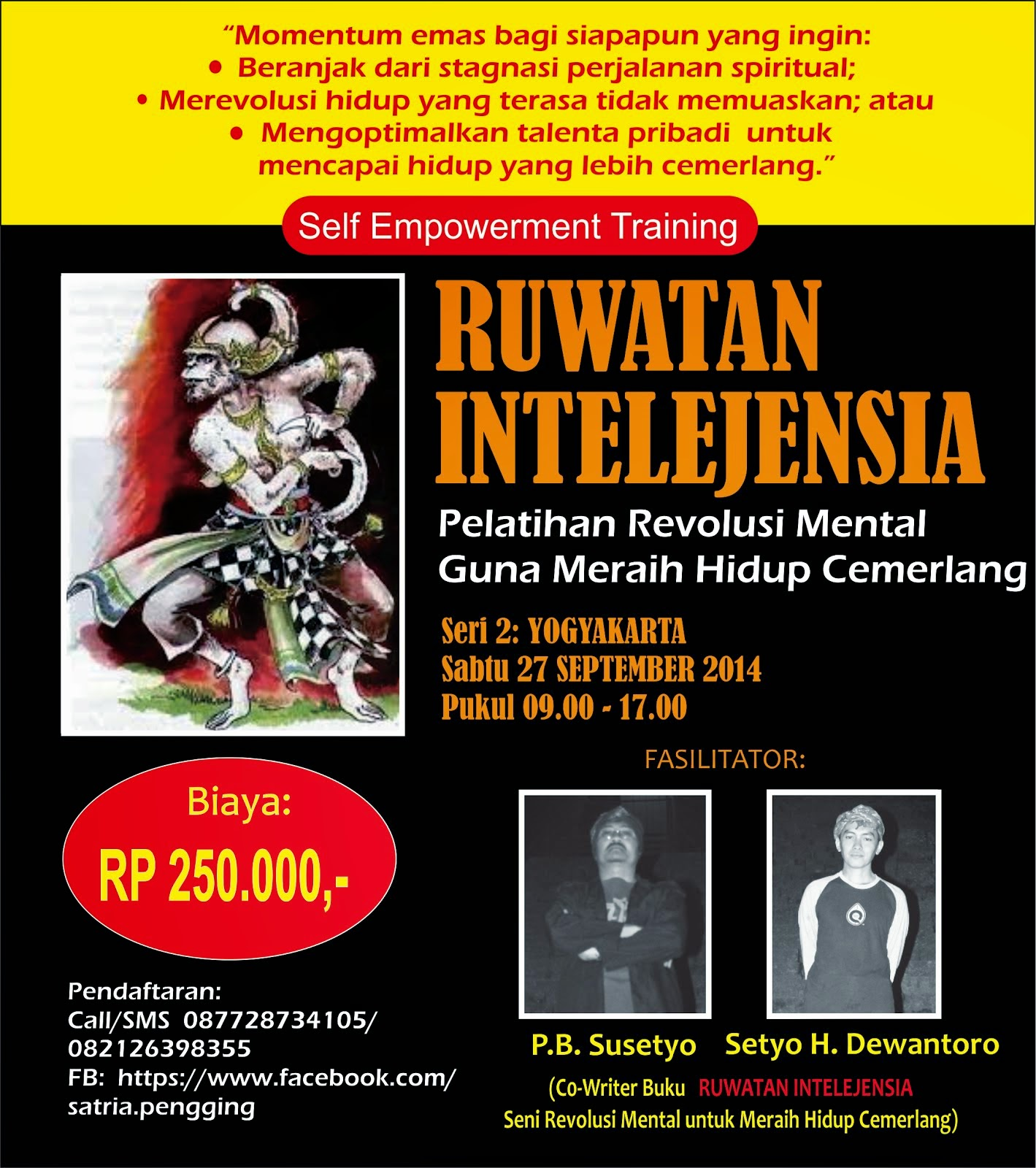 TRAINING RUWATAN INTELEJENSIA