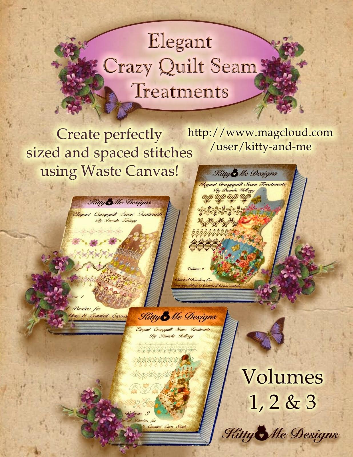 Elegant Crazy Quilt Seam Treatments