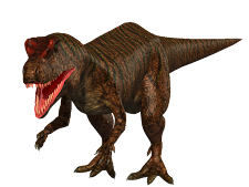 Allosaurus Dark Brown