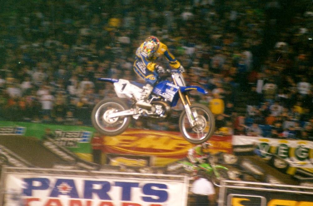 Jeremy McGrath Pontiac Supercross 2001