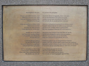 Firefighter's Prayer/La prière du pompier