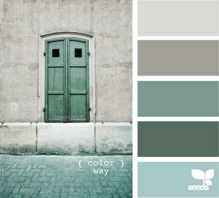 The gallivanting girl blog blog of note design seeds - Bathroom color schemes brown and teal ...