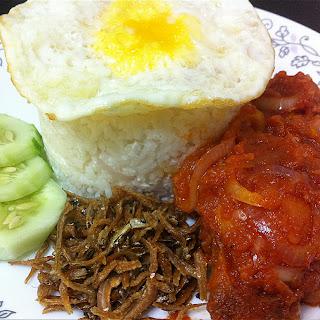 Cara masak nasi lemak