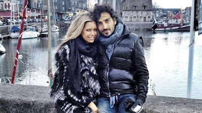 Sylvie van der Vaart en Guillaume Zarka
