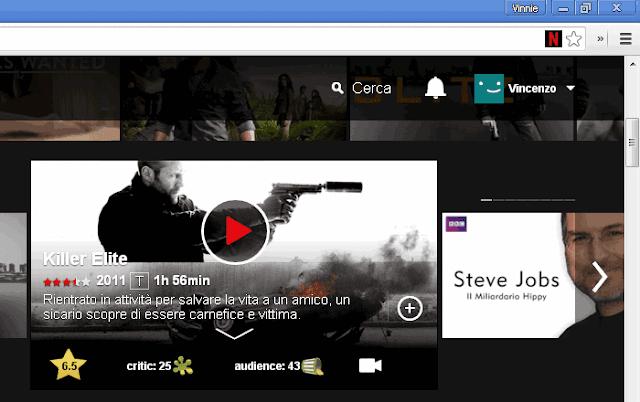 NEnhancer estensione Chrome per Netflix