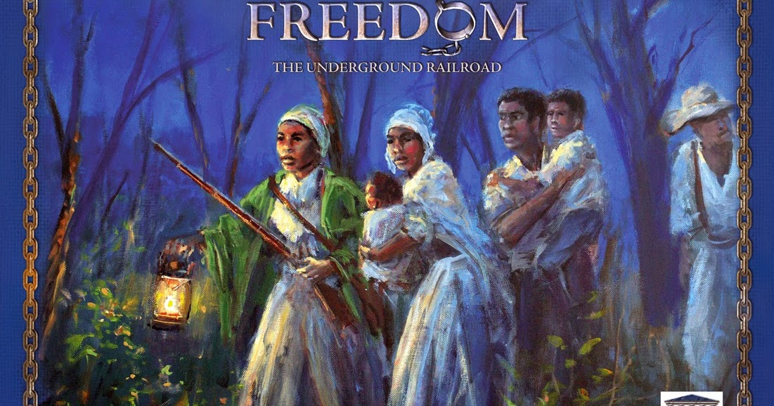 Voyages à travers le temps: Freedom, The Underground Railroad