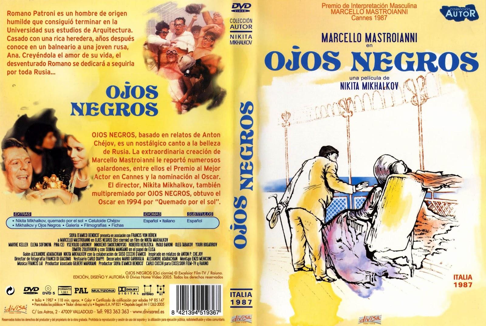 Ojos Negros (1987) Caratula