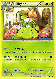 Lilligant Pokemon Card Noble Victories Set