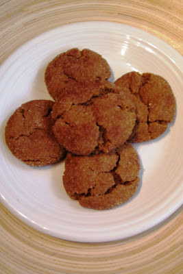 Dairy-free ginger snap recipe. #recipe #dairy-free #cookie