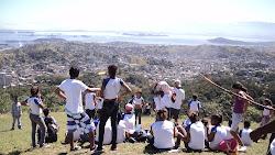 Estudos do meio (trabalho de campo) no Morro do Castro