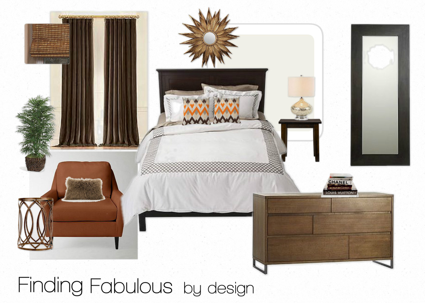 The Collected Interior Master Bedroom Mood Board Design
