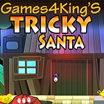 Games4King Tricky Santa Escape