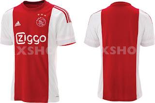 berita bocoran jersey musim depan Jersey Kandang Ajax 2015/2016 di enkosa sport