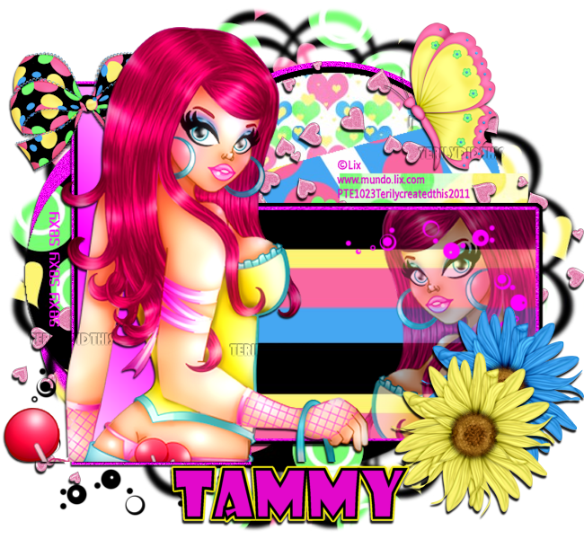 Scrapkit of choice I am using a PTU kit by Tammy's Scraps called
