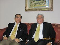 Naim  bersama Rahim