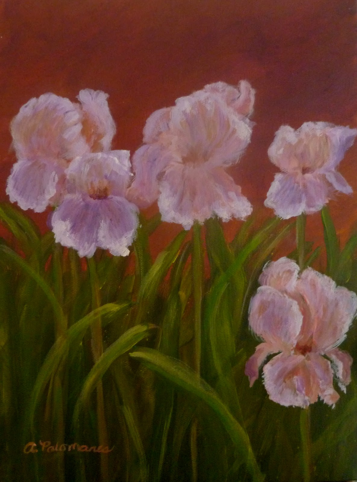 New flower paintings amber palomares coastal and nature paintings new flower paintings izmirmasajfo