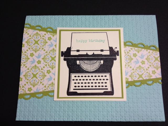 My Creative Corner Youre My Type Birthday Card