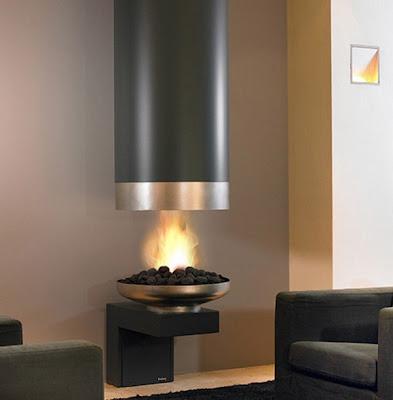 modern+dekorasyon+%C5%9F%C3%B6nime+modelleri Modern İç Tasarım Şömine Örnekleri