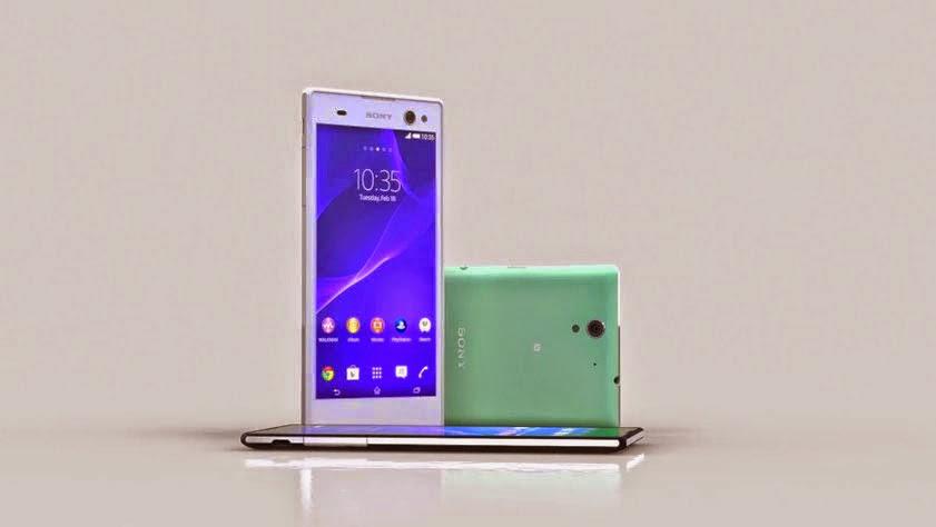 Sony Xperia C3 - Sleek Design