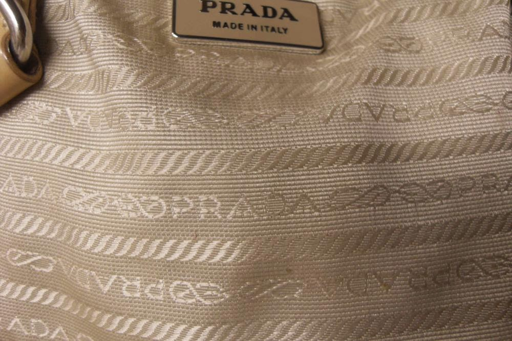 prada gold handbag - Are Your Designer Handbags Authentic?: Prada Guide Part 1