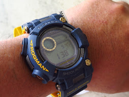 CASIO G-SHOCK FROGMAN NAVY BLUE GWF-D1000NV - TRIPLE SENSOR - TOUGH SOLAR - BRAND NEW