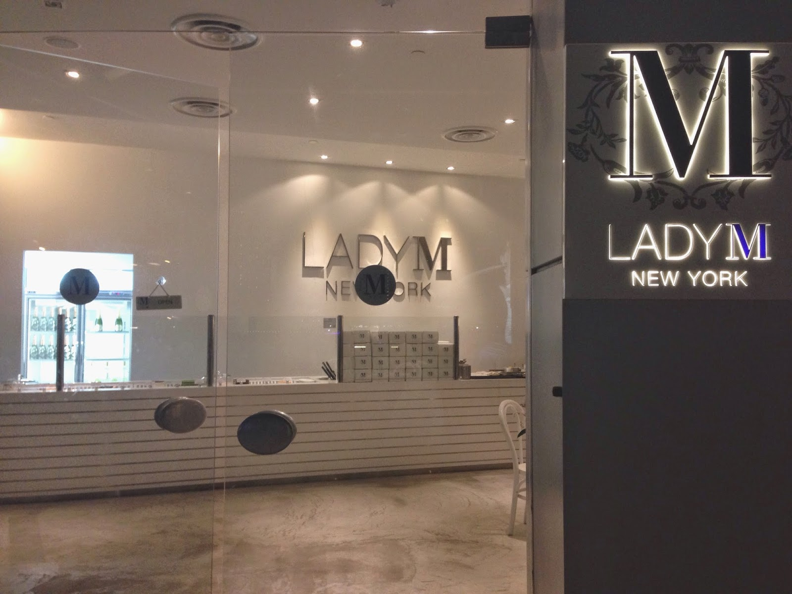 Lady M One Fullerton Singapore