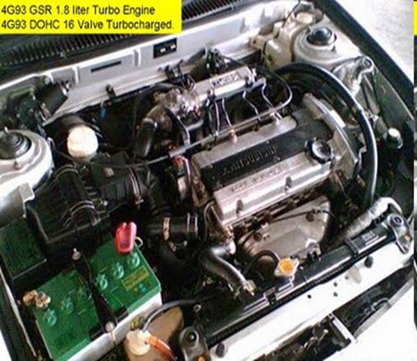 4g93 Engine Proton Wira: Fire Starting Automobil: Prosedur- Kancil Convert Kelisa