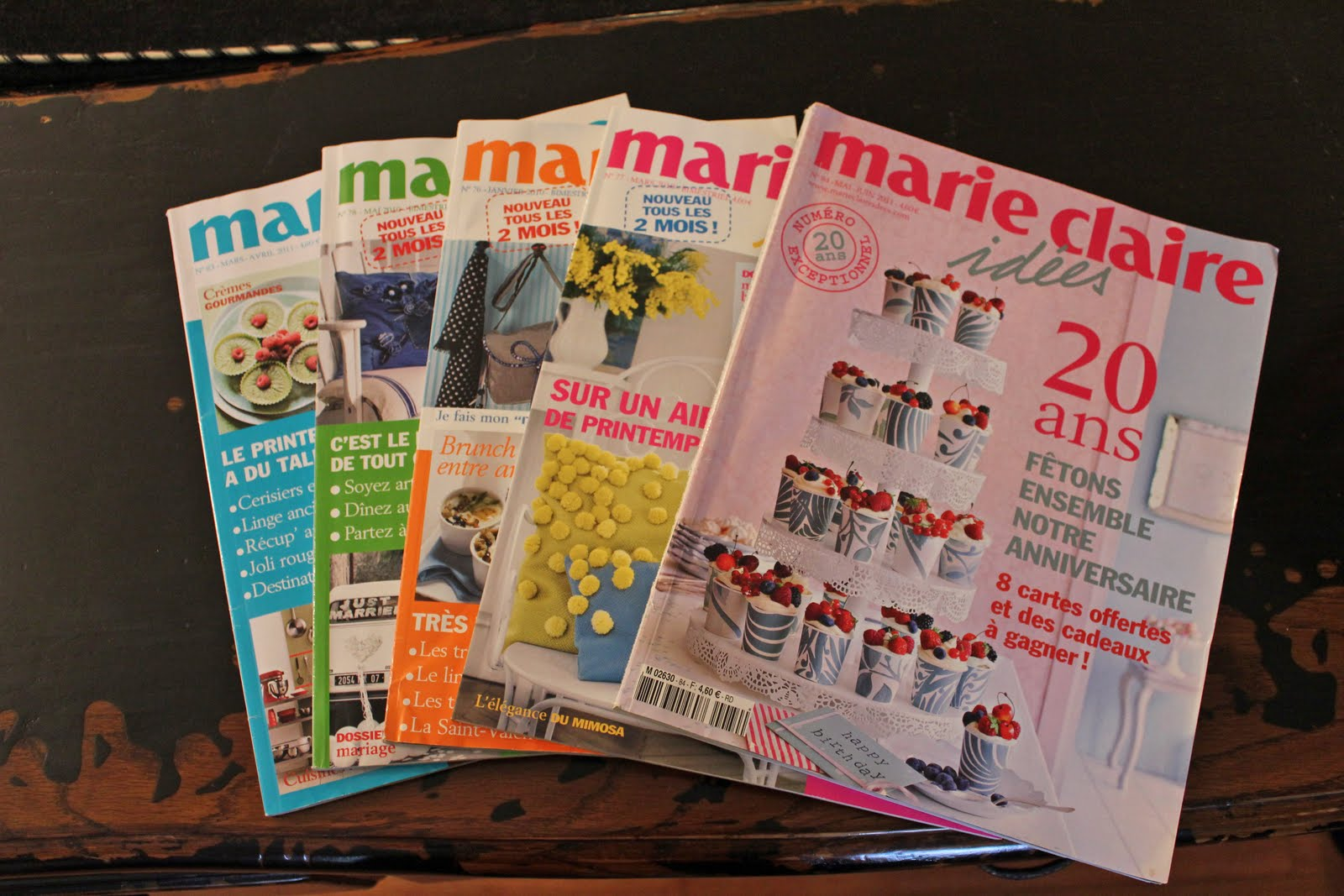 featherty sews the francophile giveaway marie claire idees magazines. Black Bedroom Furniture Sets. Home Design Ideas