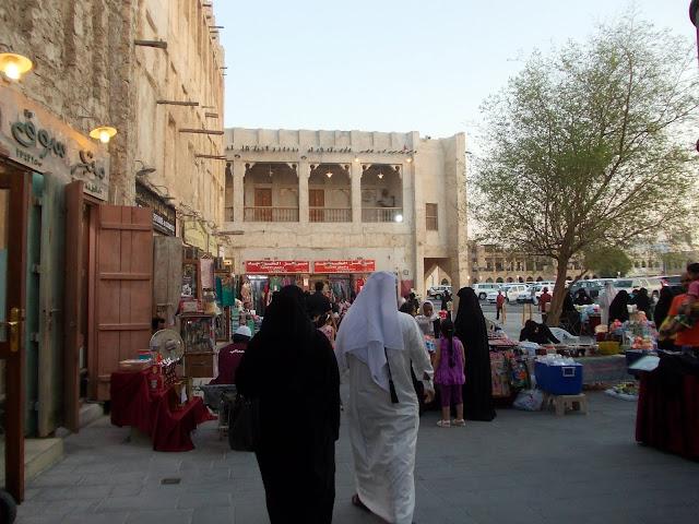 Mercado en Doha, Qatar