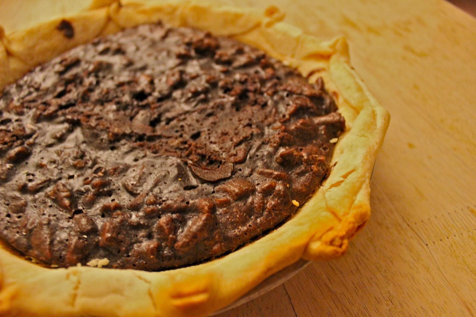 Today I Cooked...: Bittersweet Chocolate Pecan Pie(s)
