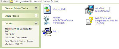 Turn your mobile as a wireless webcam